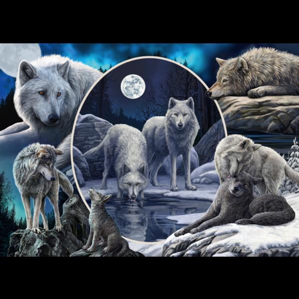 Schmidt Lisa Parker Magnificent Wolves Jigsaw Puzzle