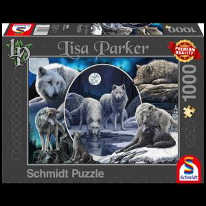 Schmidt Lisa Parker Magnificent WolvesJigsaw Puzzle