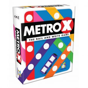 Metro X Strategy Board Game