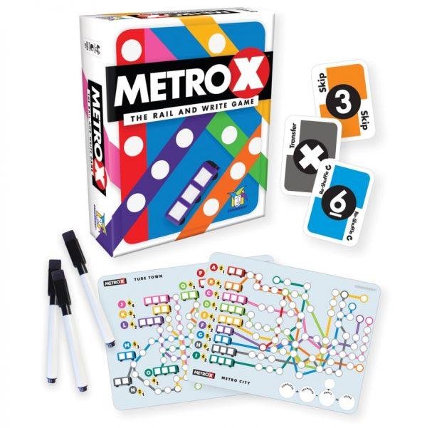 Metro X Strategy Board Game