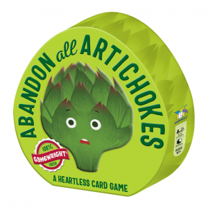 Abandon All Artichokes Gamewright Card Game