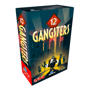 12 Gangsters Blue Orange Board Game