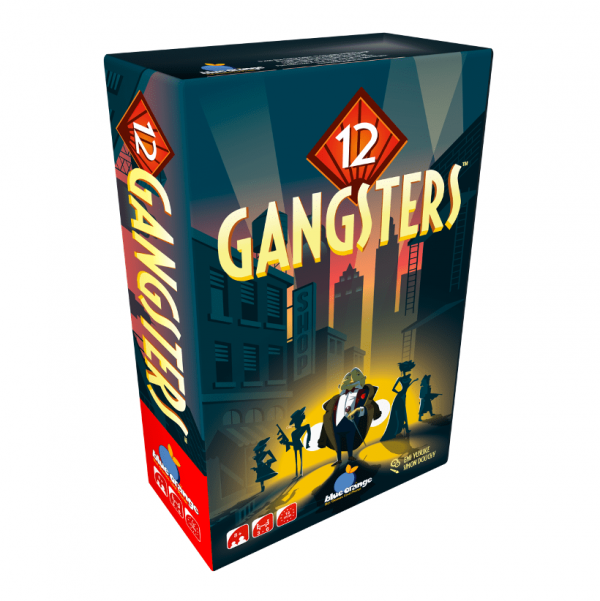 12 Gangsters Blue Orange Board Game