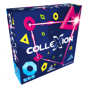 ColleXion Blue Orange Strategy Board Game
