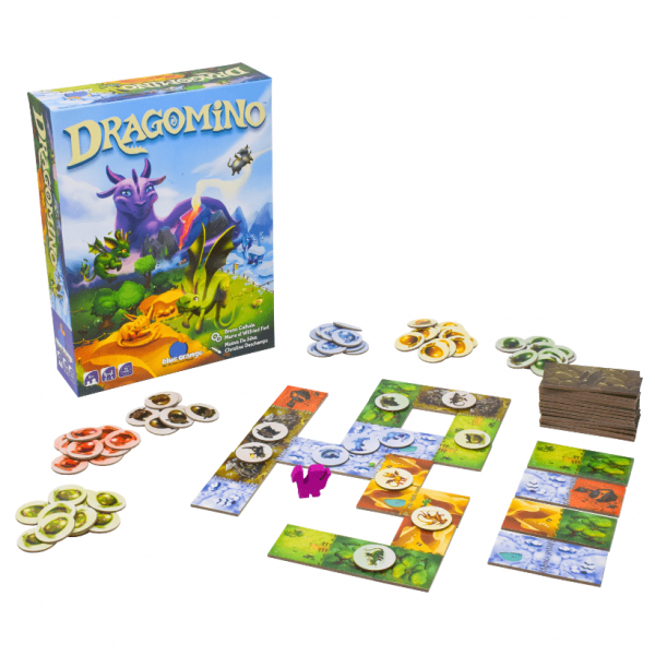 Dragomino Blue Orange Children's Board Game