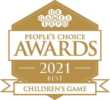 UKGE award logo best childrens game