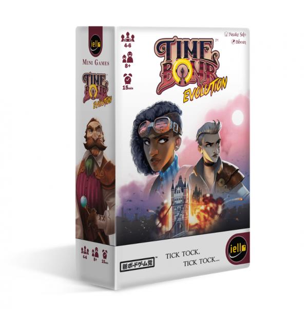 Time Bomb Evolution Iello Card Game