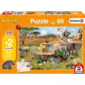 safari adventure schmidt children's jigsaw
