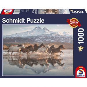 horses in cappadocia 1000pcs schmidt jigsaw puzzle