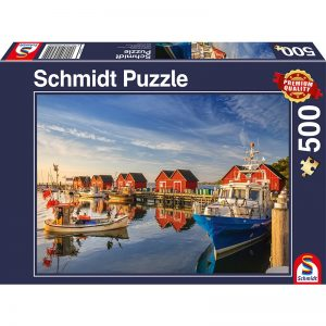 weisse wiek fishing harbour 500pcs schmidt jigsaw puzzle
