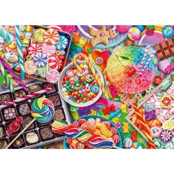 candylicious 1000pcs schmidt jigsaw puzzle