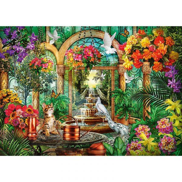 animals in the atrium 2000pcs schmidt jigsaw puzzle