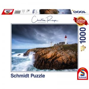 christian ringer st mathieu lighthouse 1000pcs schmidt jigsaw puzzle