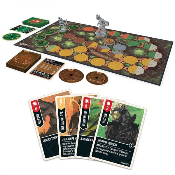unmatched robin hood vs big foot iello strategy game