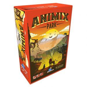 animix park blue orange card game