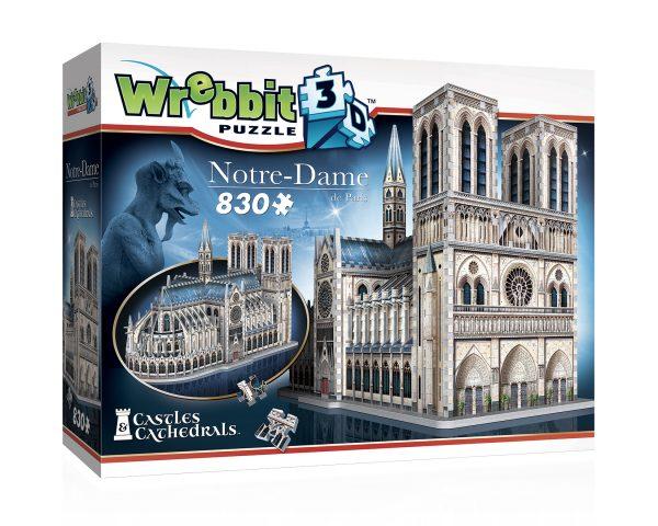Notre Dame Wrebbit 3D Puzzle
