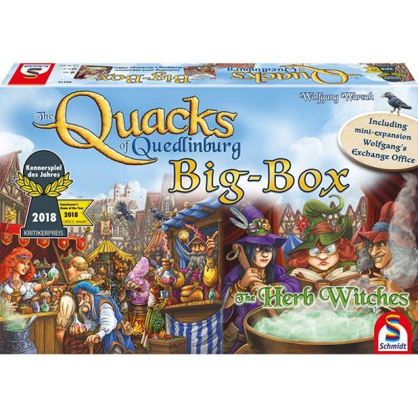 quacks of quedlinburg big box schmidt strategy board game