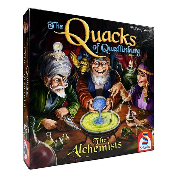 Coiledspring Games - Quacks of Querdlinburg The Alchemists - Box
