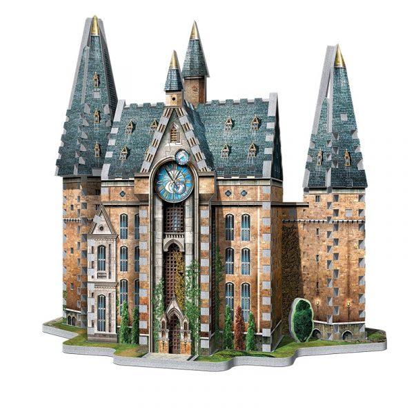 Harry Potter - Hogwarts Clock Tower - Wrebbit 3D - Coiledspring Games