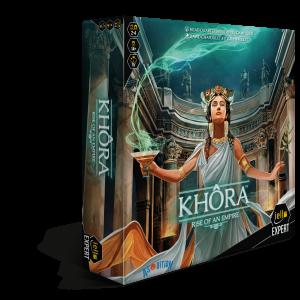 Khora Board Game Box