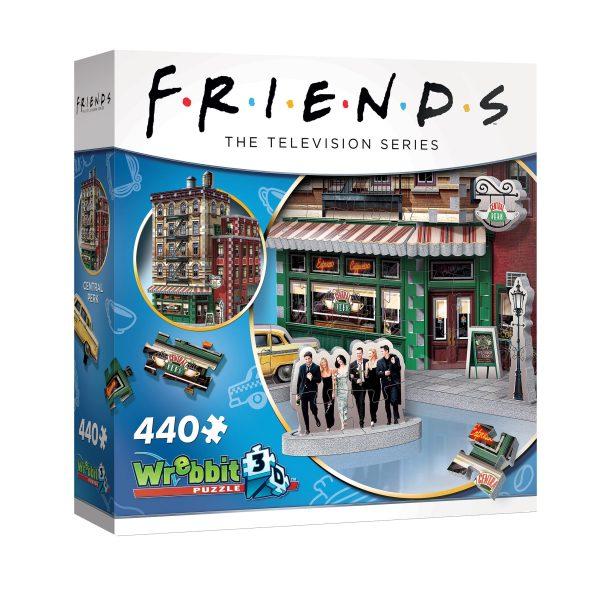 friends central perk 3d puzzle box