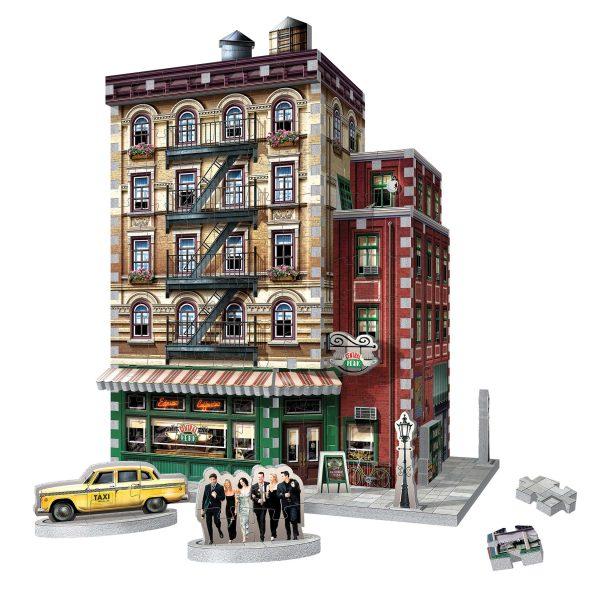 friends central perk 3d puzzle built