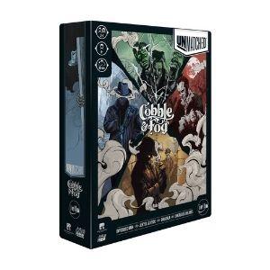 Iello Unmatched Cobble and Fog Board game box