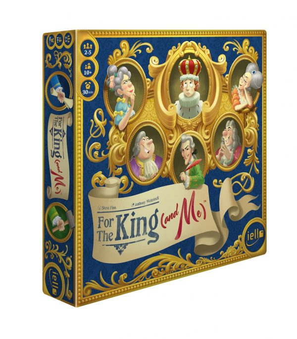 for the king and me board game box front