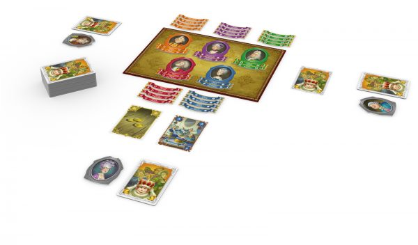 for the king and me board game contents