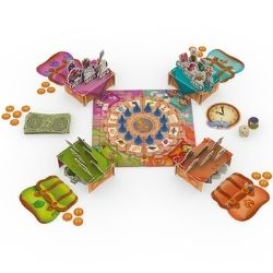Magic Market board game components