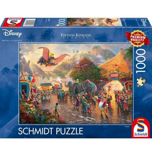 disney's dumbo puzzle box