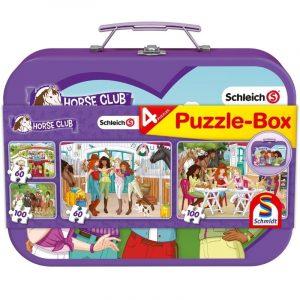 horse club puzzle box